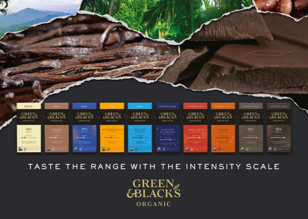 Summer Screens announces partnership with premium chocolate brand Green & Blacks